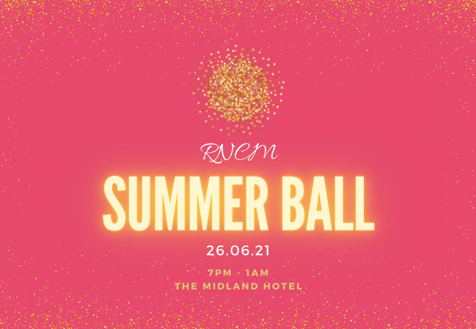 Copy of Summer ball instagram poster